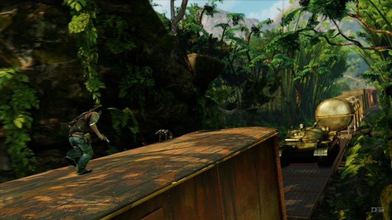 Uncharted 2 in tutto il suo splendore