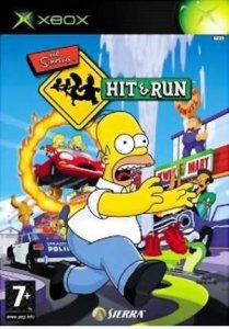 The Simpsons: Hit & Run per Xbox