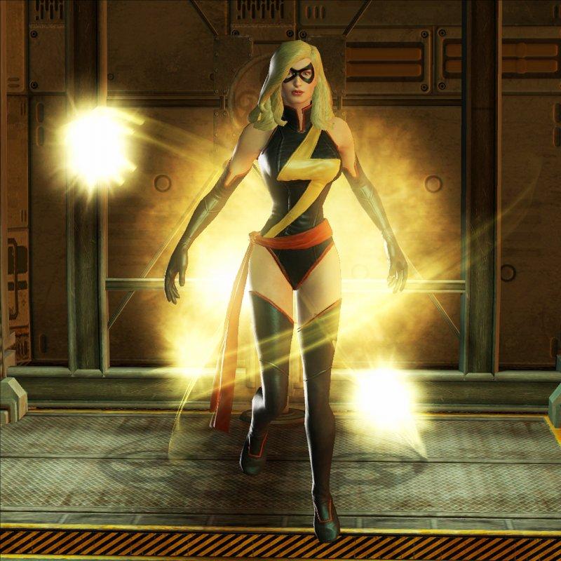 Ms Marvel in un video de La Grande Alleanza 2