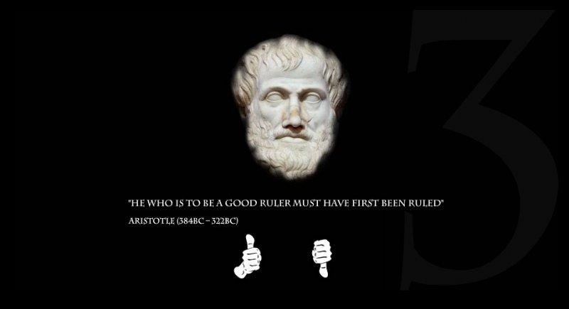 Aristotele sul sito dei Lionhead