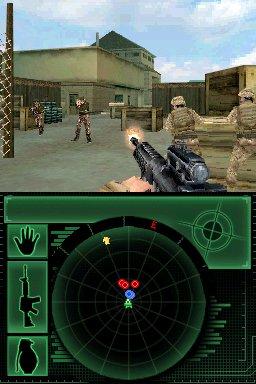 La guerra vista in un doppio schermo