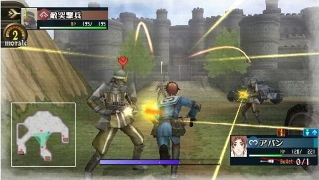 Nuovi screenshots per Valkyria Chronicles 2