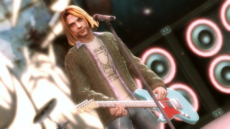 Courtney Love contro Activision per Kurt Cobain in Guitar Hero 5
