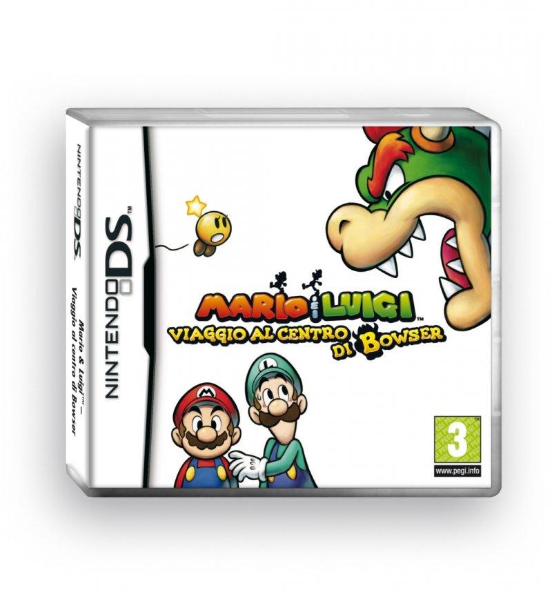 Confezione, immagini e data di uscita per Mario e Luigi