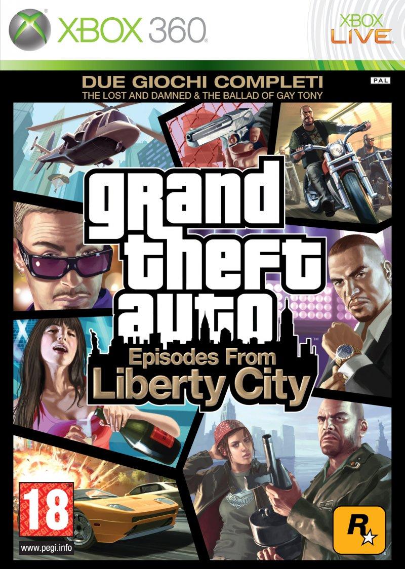 La copertina di Grand Theft Auto: Episodes from Liberty City