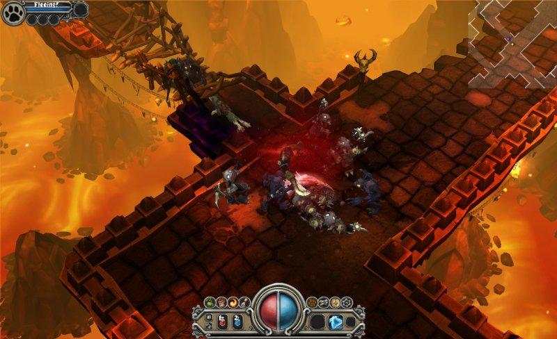 Il gameplay di Torchlight si mostra in video