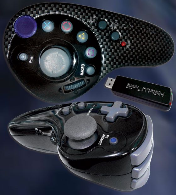 Splitfish e Multiplayer.it presentano i controller del futuro per PlayStation 3