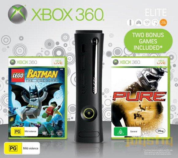 Un'immagine del bundle natalizio di Xbox 360