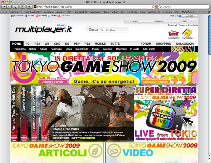 Multiplayer.it al Tokyo Game Show 2009!