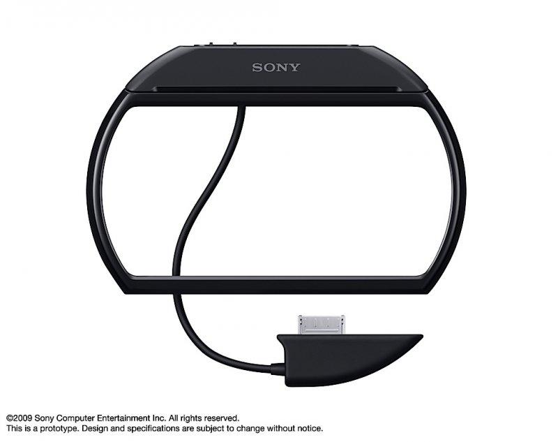 [TGS 2009] Un buffo cavo per PSP Go: compatibilità con le periferiche PSP 3000