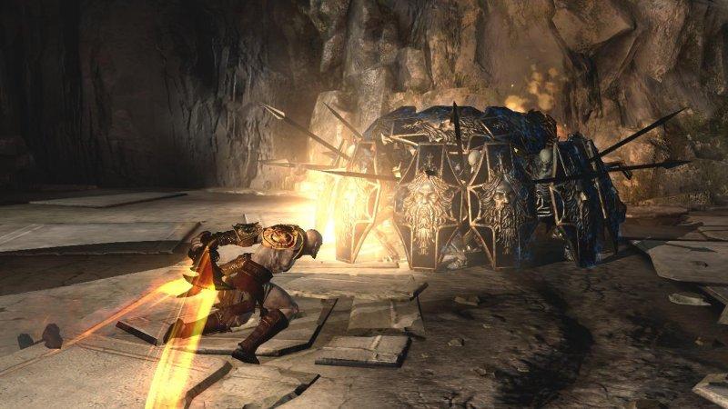 Niente co-op per God of War III