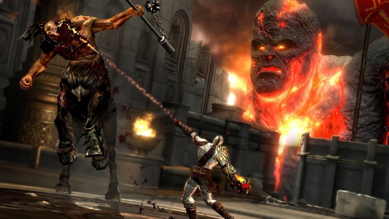 La demo di God of War III a metà novembre in Giappone
