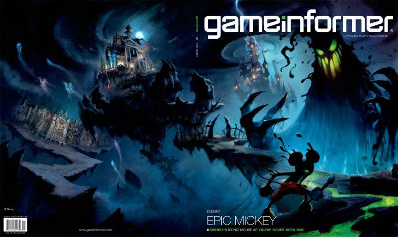 Confermato: Epic Mickey su Game Informer, è un'esclusiva Wii