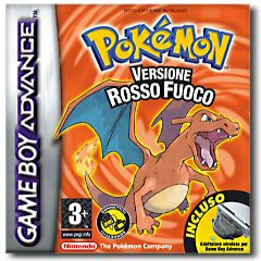 Pokémon Rosso Fuoco (Pokémon Fire Red) per Game Boy Advance