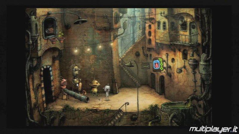 Machinarium arriverà a settembre su PlayStation Network