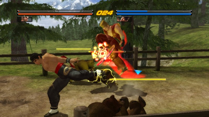 DLC gratuiti per Tekken 6