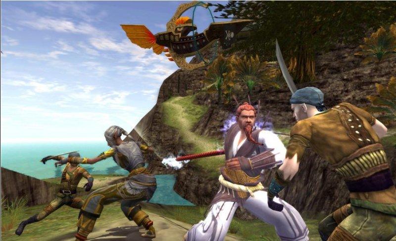 Dungeons & Dragons Online è il terzo MMO per popolarità in USA