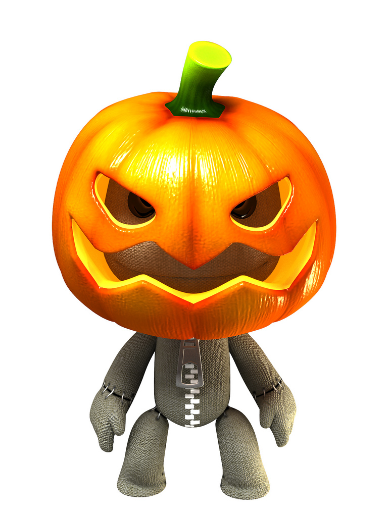 Costumi di Halloween su LittleBigPlanet