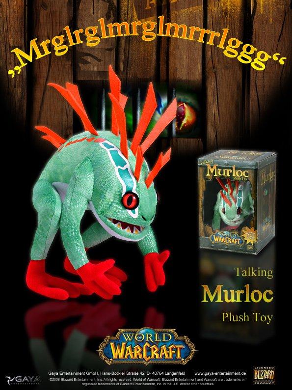 Potete resistere al plush toy di un Murloc gorgogliante?