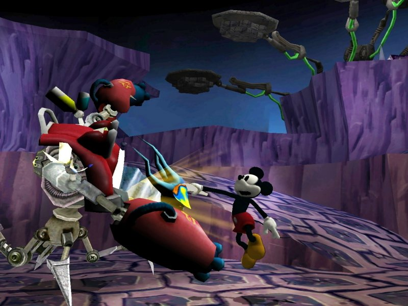 Un restyling per Epic Mickey?