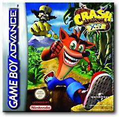 Crash Bandicoot Xs per Game Boy Advance