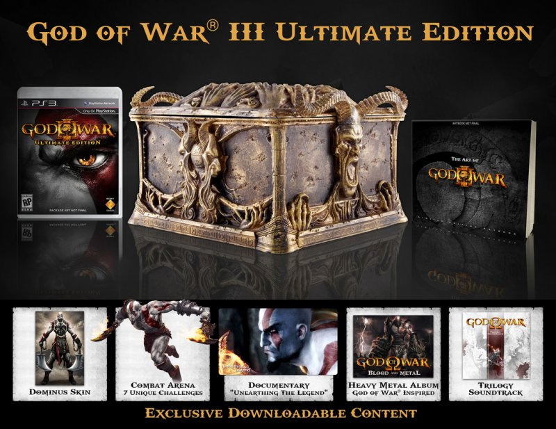 God of War III in Europa: Collector's Edition e demo