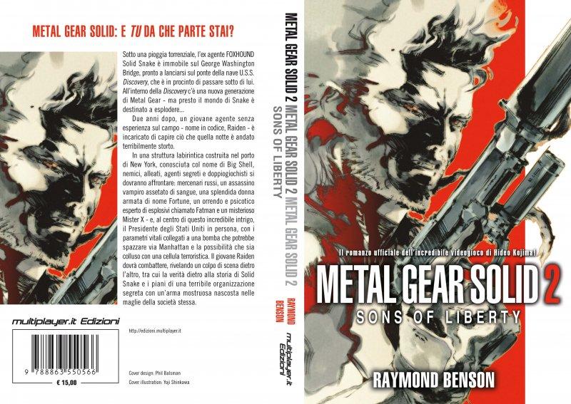 Multiplayer.it Edizioni presenta il secondo romanzo di Metal Gear Solid