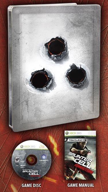 Informazioni sull'edizione da collezionisti di Splinter Cell: Conviction