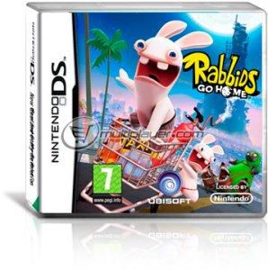 Rabbids Go Home per Nintendo DS