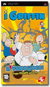 I Griffin (Family Guy) per PlayStation Portable
