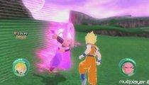 Dragon Ball: Raging Blast - Goku vs Majin Bu e Radish vs Freezer Gameplay
