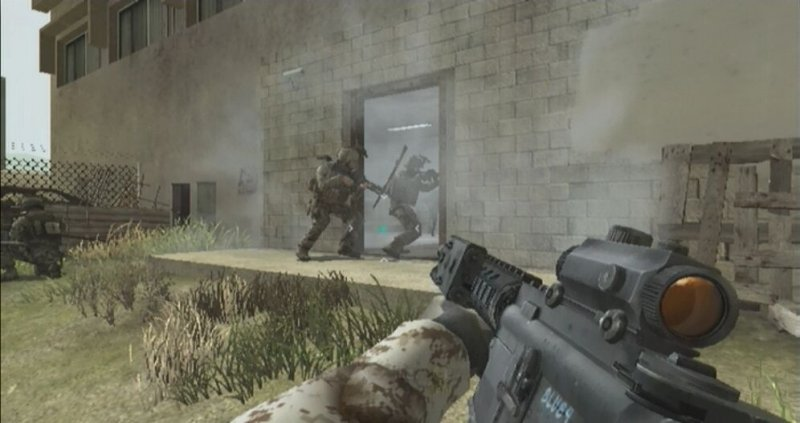 Guerra moderna anche su Wii