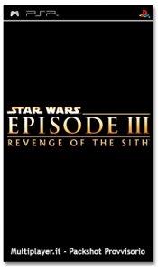 Star Wars Episodio 3: La Vendetta dei Sith (Star Wars Episode 3: Revenge of the Sith) per PlayStation Portable