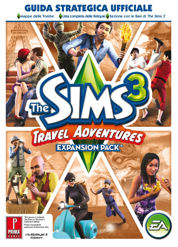 the sims 3 travel adventures edizioni presenta la guida dei sims 3 travel adventures