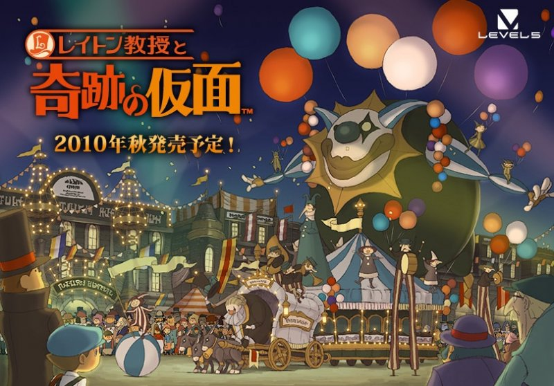 Level-5 annuncia Professor Layton and the Miracle Mask