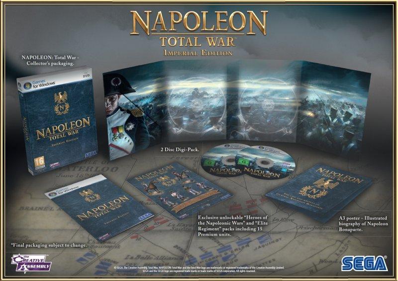 Un'Edizione Imperiale per Napoleon: Total War