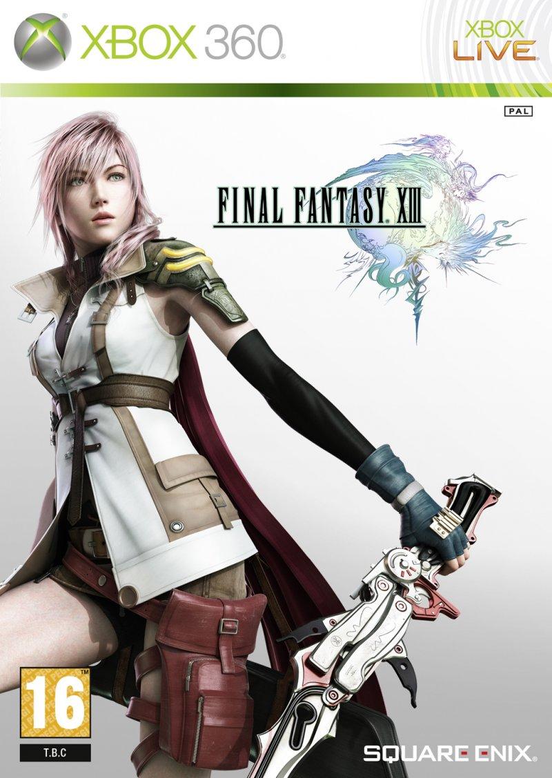 La confezione europea di Final Fantasy XIII