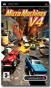MicroMachines V4 per PlayStation Portable
