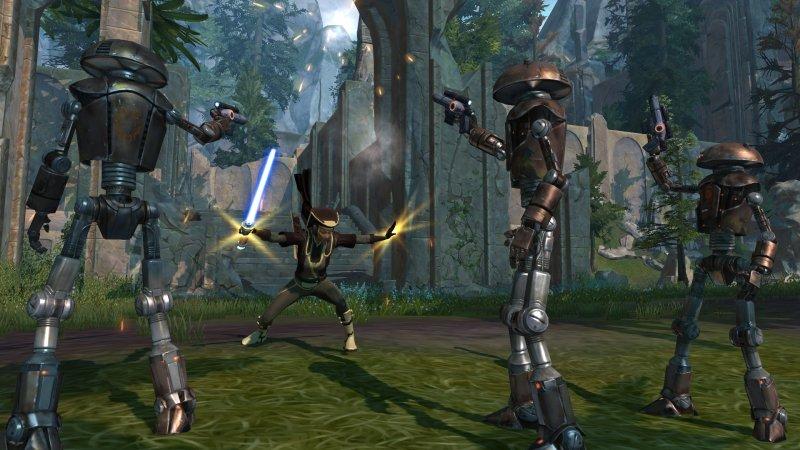 Star Wars: The Old Republic batte tutti in dimensioni