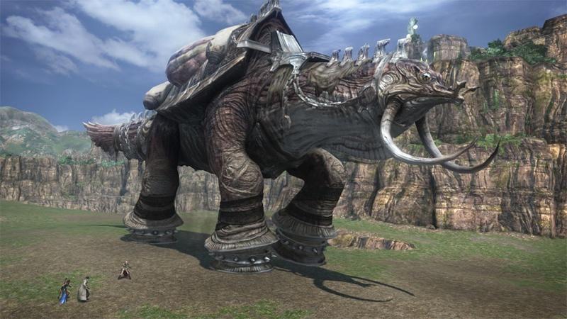 Le tartarughe giganti di Final Fantasy XIII