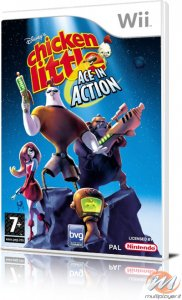 Chicken Little: Asso Spaziale (Chicken Little: Ace in Action) per Nintendo Wii