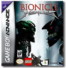 Bionicle Heroes (LEGO Bionicle) per Game Boy Advance