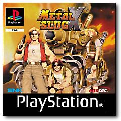 Metal Slug X per PlayStation 2