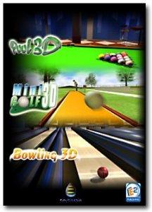 Pool3D - Minigolf3D - Bowling3D per PC Windows
