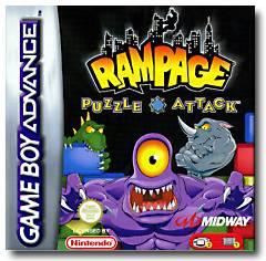Rampage Puzzle Attack per Game Boy Advance