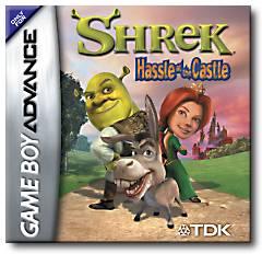 Shrek hassle at the castle per Game Boy Advance