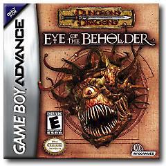 D&D Eye Of The Beholder per Game Boy Advance