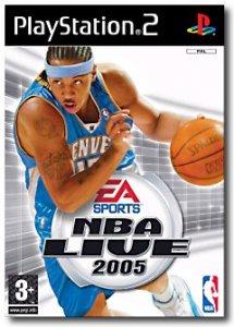 NBA Live 2005 per PlayStation 2