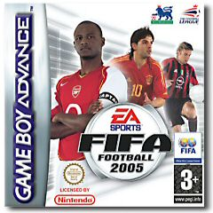 Fifa 2005 per Game Boy Advance