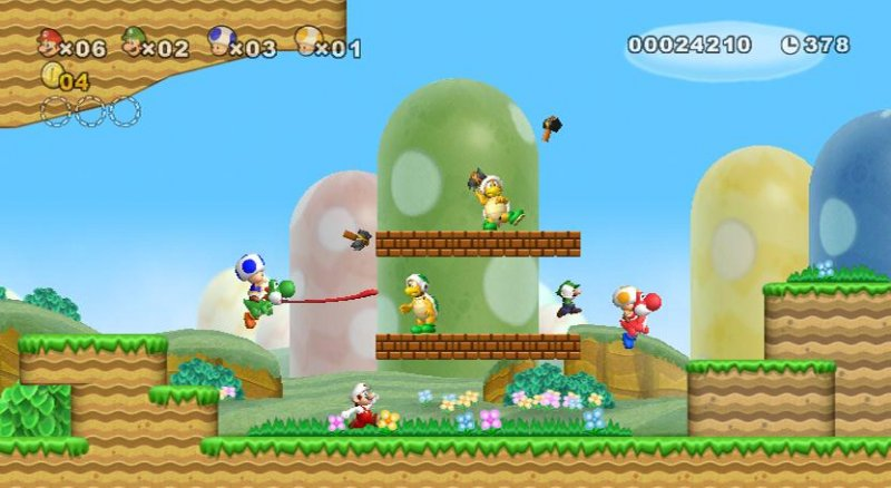 Vendite da record per New Super Mario Bros. in Giappone